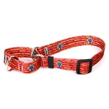 <strong>Yellow Dog Design</strong> Red Wine Martingale Collar