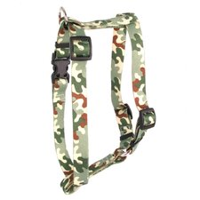 Camo Roman Dog Harness