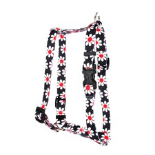 Black Daisy Roman Harness