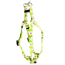 <strong>Yellow Dog Design</strong> Green Daisy Step-In Harness