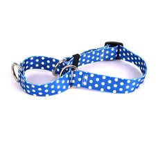 Polka Dot Martingale Dog Collar