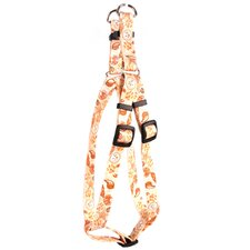 Paw Prints Step-In Harness