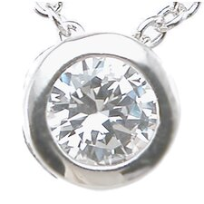 <strong>Plutus Partners</strong> .925 Sterling Silver Brilliant Cut Cubic Zirconium Fashion Pendant