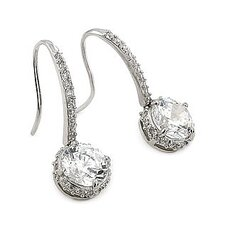 <strong>Plutus Partners</strong> Cubic Zirconia Drop Earrings