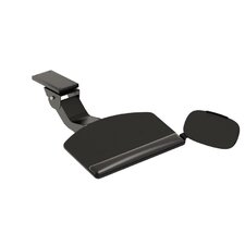 Convertible Keyboard with Articulating Arm and Mouse Pad