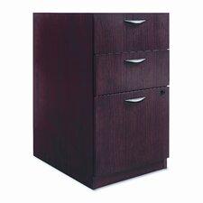 Basyx Bw Veneer Series Box/Box/File Pedestal File