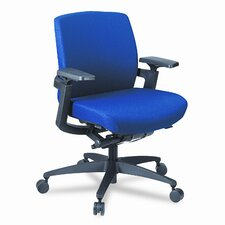 F3 Series Low-Back Work Chair, Mariner Upholstery
