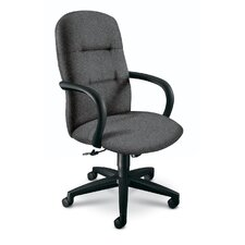 High-Back Office Chair with Height Adjustment