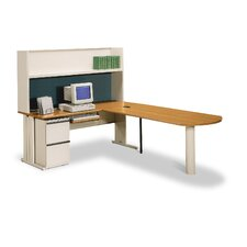"<strong>HON</strong> 66000 StationMaster Series 72"" W x 30"" D Office Desk"