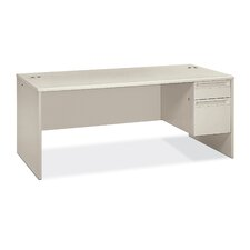 "38000 Series 72"" W Right Pedestal Executive Desk"