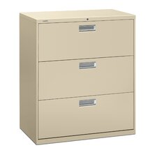 600 Series 3-Drawer  File