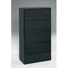 "700 Series 36"" W Five-Drawer Lateral File"
