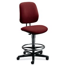 Height Adjustable Task Stool with Adjustable Footring