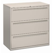 "<strong>HON</strong> 700 Series 42"" W Three Drawer Lateral File"