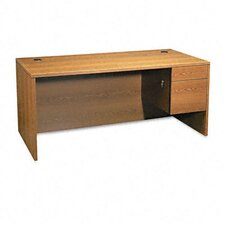 "10500 Series ""L"" Right Pedestal Desk"