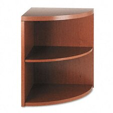 Valido 11500 Series End Cap Bookcase, 2 Shelves, 24w x 24d x 29-1/2h, BBC
