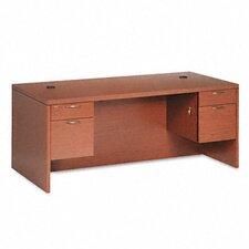 11500 Series Valido Executive Desk with Double Pedestal