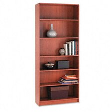 1890 Series Bookcase, 6 Shelves, 36W X 11-1/2D X 84H