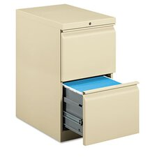 <strong>HON</strong> Efficiencies Mobile Pedestal File with Two File Drawers, 22-7/8D