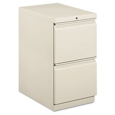 Efficiencies Mobile Pedestal File with Two File Drawers, 22-7/8D