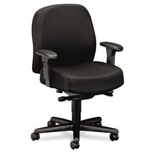 24-Hour Mid-Back Synchro-Tilt Task Chair