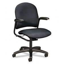 Mid-Back Swivel / Tilt Task Chair with Arms