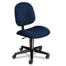 Every-Day Series Swivel-Back Pivot Task Chair, Olefin Fabric, Blue