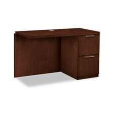 Single Pedestal Right Desk Return