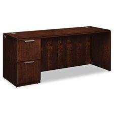 Arrive Single Pedestal Credenza with 2 Drawers
