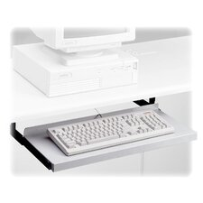 "<strong>HON</strong> Metal Keyboard Platform, Nonarticulating, 24""Wx10""D, Black"