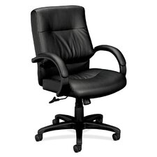 <strong>HON</strong> VL690 Series Mid-back Chair with Padded Arms