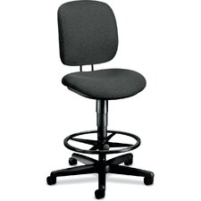 Height Adjustable Task Stool with Footring