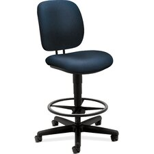 <strong>HON</strong> Height Adjustable ComforTask - 5900 Series Task Stool with Footring