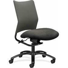 Alaris Mid-Back Pneumatic Swivel Office Chair