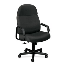 <strong>HON</strong> 3500 Pyramid High-Back Executive  Chair