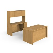 10500 Series Desk Credenza with Stack On Storage
