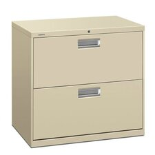 "<strong>HON</strong> 600 Series 30"" W Two-Drawer Lateral File"