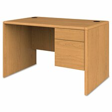 10700 Series Writing Desk with Single Right Pedestal Desk