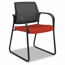 <strong>HON</strong> Ignition Series Mesh Back Guest Chair With Sled Base