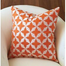 Solitaire Pillow-Tangerine