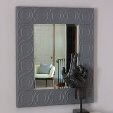 Arabesque Trapunto Wall Mirror