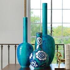 Painted Gourd Vase