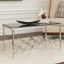 Quatrefoil End Table