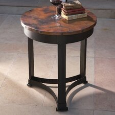 <strong>Global Views</strong> Classic Copper End Table