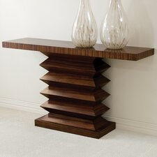 <strong>Global Views</strong> Zig Zag Console Table