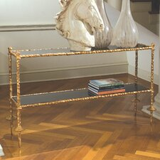 Gold Chiseled Console Table