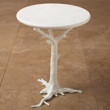 <strong>Global Views</strong> Faux Bois End Table