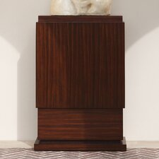 Wide Skyscraper Pedestal Console Table