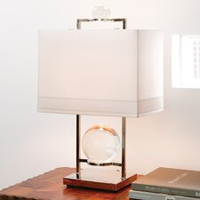 "Switch on the Lights Fortune Teller 24"" H Table Lamp with Rectangle Shade"
