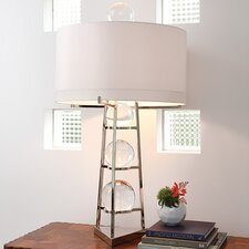 "Fortune Teller Large 39"" H Table Lamp with Drum Shade"